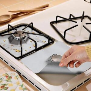 1/2/4PCS Gas Stove Protector gas Stove Cooker cover liner Clean Mat Kitchen Gas Stove Stovetop Protector Kitchen Accessories Kitchen
