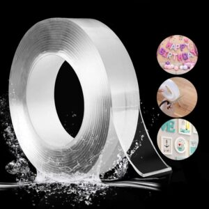 1/3/5M Nano Tape Double Sided Tape Transparent Adhesive Traceless Tape Reusable Waterproof Wall Door Sticky Tape Glue Kitchen