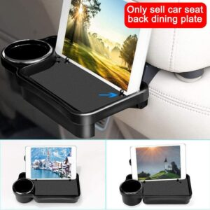 1 Pcs Auto Dine Plate Multifunctional Automobile Rear Tea Storage Table Dining Seats Table Foldable Utensils In-Car Cups Ho Y7H8 Car accessories