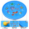 100cm Inflatable Spray Water Cushion Summer Kids Play Water Mat Lawn Games Pad Sprinkler Play Toys Outdoor Tub Swiming Pool Swimming