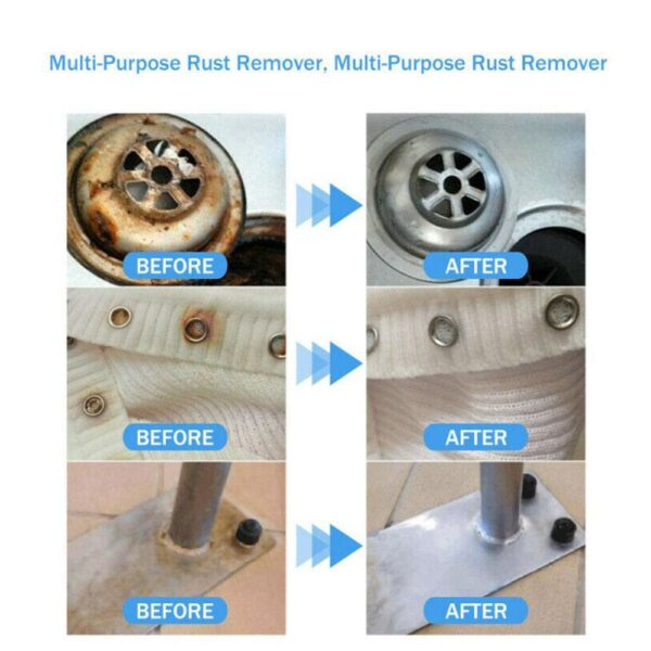 100ml Rust Inhibitor Rust Remover Derusting Spray Car Maintenance Cleaning Metal Chrome Paint Clean Anti-rust lubricant Car accessories