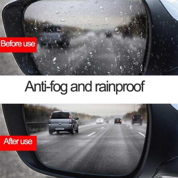 105ml Waterproof Anti-Fogging Agent Hydrophobic Coating Spray for Car Windshield Bathroom Moving Screen Cleaning Supplies Car accessories