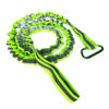 120 cm/47 inch Coiled Kayak Fishing Rod Paddle Oar Leash Canoe Accessories Reflective Green Kayak Paddle Leash Swimming Swimming