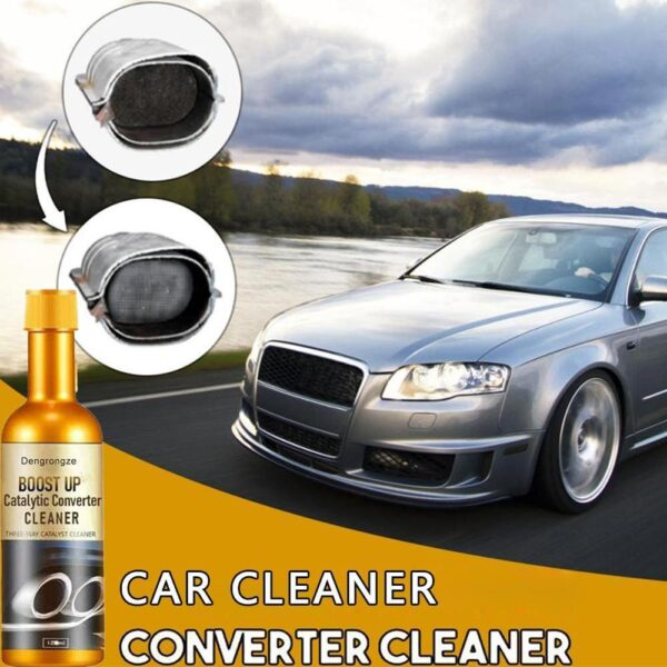 120ML Promotion Car Catalytic Converter Cleaners Automobile Cleaner Catalysts Easy To Clean Engine Accelerators CSV Car accessories