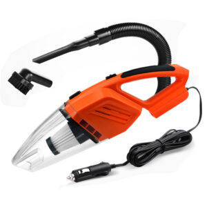120W Car Vacuum Cleaner for car Portable Handheld Wet And Dry Dual Use 5 Meters Connector Cable with LED Light Multi Dust Car accessories