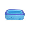 120cm Children Bathing Tub Baby Home Use Paddling Pool Inflatable Square Swimming Pool Kids Inflatable Pool Ocean Ball Swimming
