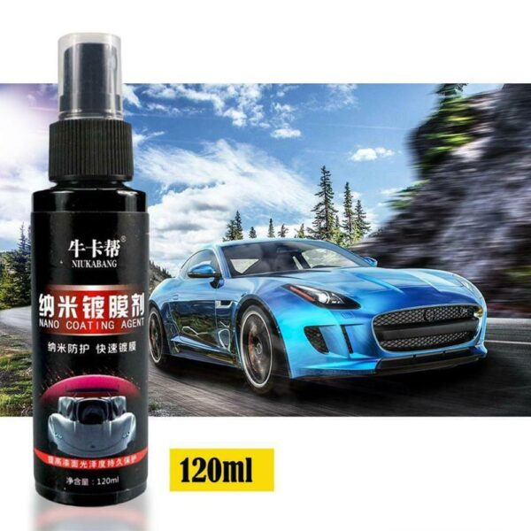 120ml Polishing Paste Wax Car Scratch Repair Agent Hydrophobic Paint Care Painting Waterproof Scratches Remover Glass Cleaning Car accessories
