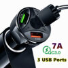 12V USB charger 3.0 Car Cigarette Lighter 3 Ports USB Car Charger Qick Charge For Huawei Xiaomi Samsung iPhone Car Charger QC Car accessories