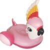 130cm Giant Inflatable Parrot Pool Float Newest Pink Ride-On Swimming Ring For Adults Summer Water Holiday Party Toy Swimming