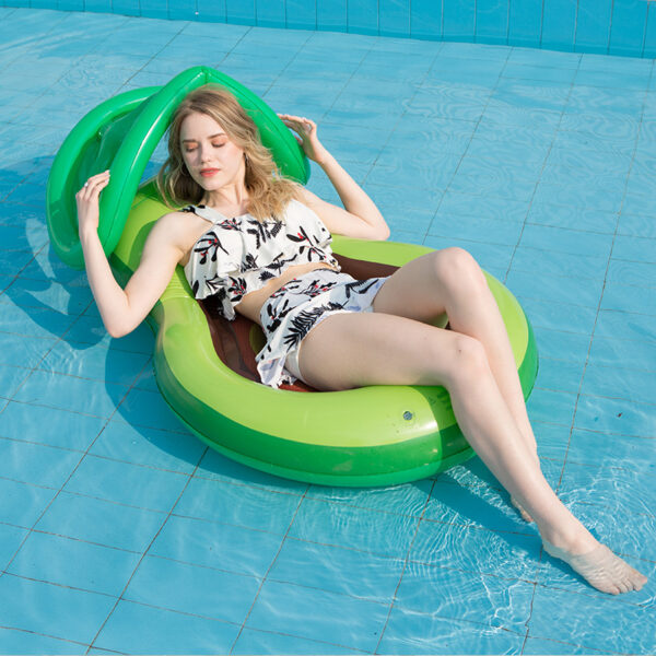 160*90cm Avocado Swimming Ring Inflatable Swim Giant Pool Pool Floats for Adults for Tube Float Swim Pool Toys 2020 New Swimming