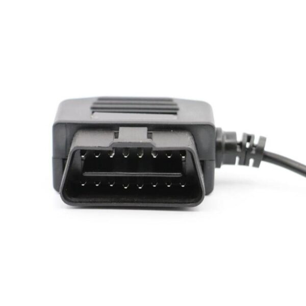 18.7in OBD2 USB Power Charging Cable 16Pin Connector Charger for Car GPS (C) L80 Car accessories