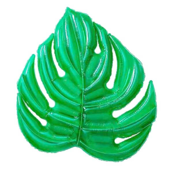 180*160cm Giant Inflatable Green Leaf Pool Raft Lounge Foliage Floats Water Toys Ride-On Swimming Ring For Adult Children Party Swimming