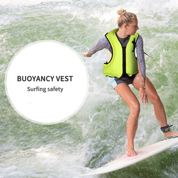1Pcs Professional Safety Swimming Life Jacket Vest Foam Colete Salva-Vidas With SOS Whistle For Water Sports Drifting Surfing Swimming
