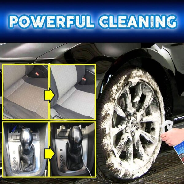 1pc 100ML Car Multi-Functional Foam Cleaner All – Purpose Water Cleaner Auto Interior Cleaning Agent Home Anti-damage Coating Car accessories