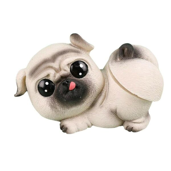 1pc Car Styling Accessories Cute Shaking Ass dog Resin Cartoon Pet Ornaments Dogs Auto Interior Dashboard Desktop Decor Gifts Car accessories