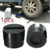 1pc Universal Car Jack Adapter Slotted Frame Lift Rubber Pad Rail Floor Stand Holder Auto Repair Related Tools Car Accessories Car accessories