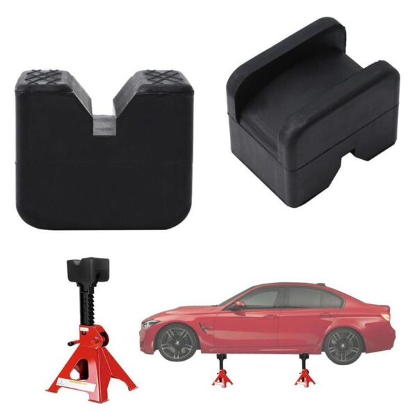 1pcs Universal Car Truck Jack Rubber Support Block support pad Protection rubber pad Rubber Lifting Jack Chassis Car Automo V8B5 Car accessories