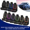 2/4pcs Car Seat Cover Fabric Car Covers To The Salon All Season Seat Protection Cover Universal Interior Car Accessories Car accessories
