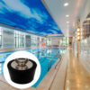 2 Drain Pipes Antifreeze Soft Rubber Plug Bathtub Plug Easy-To-Use Sink Pool Plug Swimming Pool Seal Leakproof Light And Durable Swimming