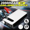 20000mAh 12V Portable Car Jump Starter Emergency Battery Booster Powerbank Car Charger with LED Flashlight Auto Starting Device Car accessories