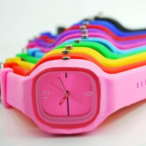 2015 hot 11 Colors Colorful Mens Womens watches Unisex Jelly Silicone Fashion Sport Quartz Simple Wrist Watch 1HHW 6T3S C2K5W Fashion Life & Accessories Iwatch & Accessories