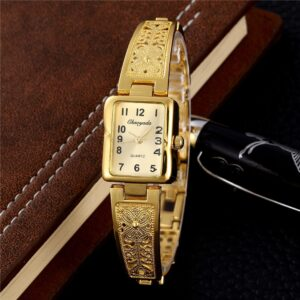 2019 Fashion Golden Silver Stainless Steel Women Watches Top Brand Luxury Ladies Casual Bracelet Watch Female Dress Cheap Clock Fashion Life & Accessories