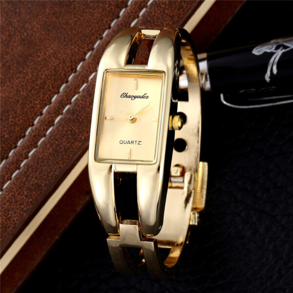 2019 Luxury Red Gold Stainless Steel Bangle Watches Women Fashion Bracelet Watch Ladies Casual Reloj Mujer Dress Clock Hot Sales Fashion Life & Accessories Iwatch & Accessories