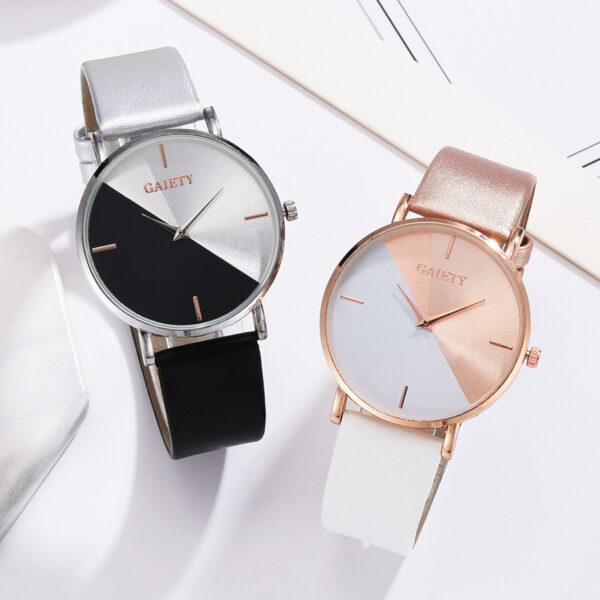 2021 New Elegant Ladies Dress Watch Casual Stylish Women Watches Women's Leather Quartz Watches Gifts For Lady Horloges Vrouwen Fashion Life & Accessories Iwatch & Accessories