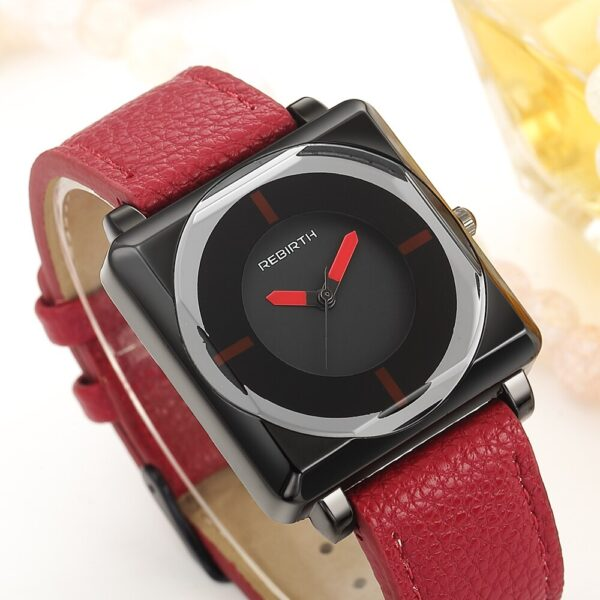 2021 Top Brand Square Women Watches Contracted Leather Crystal WristWatches Women Dress Ladies Quartz Clock Dropshiping Feminino Fashion Life & Accessories Iwatch & Accessories