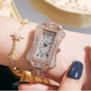 2021 WIILAA New Arrival Women Watches For Ladies Wrist Watches Top Brand Luxury Diamond Watch Rose Gold Stainless Steel Creative Fashion Life & Accessories Iwatch & Accessories
