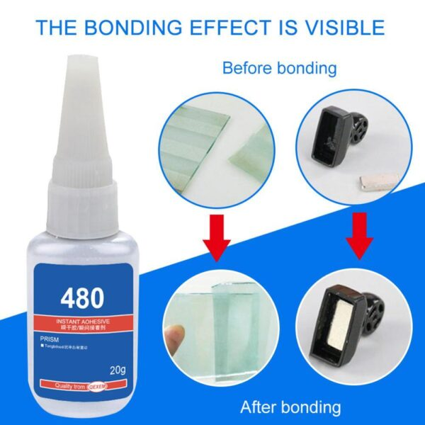 20ml Mighty Tire Repair Glue Tyre Puncture Sealant Glue Bike Car Tire Repair Patch Puncture Cement Rubber Cold Patch Solution Car accessories
