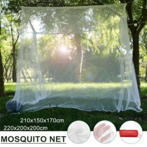 220x200cm Camping Mosquito Net Indoor Outdoor Storage Bag Insect Tent Mosquito Net Household Repellent Tent Curtain Bed Tent Bedrooms