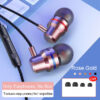 3.5mm G2 Wired Headphones For IPhone 12 HuaweiXiaomi Music Sport Gaming Headset With Bass Earbuds Stereo Earphone With Earphones Earbuds