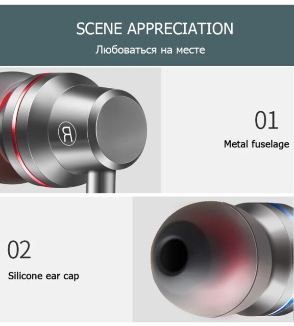 3.5mm In-Ear Wired Earphone Earbuds Earphones Music Sport Gaming Headset With mic For IPhone Xiaomi Samsung Earphones Stereo Bluetooth headphones