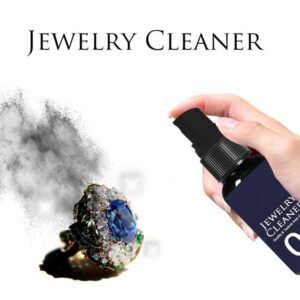 30/50ML Jewelry Cleaner Cleaning Solution Tarnish Remover Stain-free Diamonds Gold Jewelry Clean Liquid Car accessories