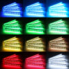 4 in 1 Car RGB Lights LED Strip Neon Lamp Decorative Atmosphere Lights Wireless Remote/Music/Voice Control Car Interior Light Car accessories