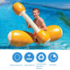 4PCS/Set Swimming Pool Float Game Inflatable Water Sports Bumper Toys For Adult Children Party Gladiator Raft Kickboard Pool Toy Swimming