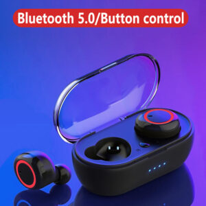 5.0 TWS Earphone bluetooth Wireless Headphone Earbud Earbud Stereo Gaming Headset with a charging case suitable for all phones Earbuds