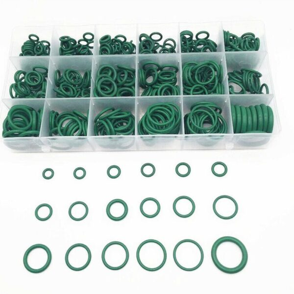 530Pcs Car Auto Repair Tools Rubber Washer Seals Watertightness Various Kit Air Conditioning O Rings Rubber Ring Sets 18 Sizes Car accessories
