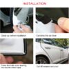 5M Rubber Car Door Protector Stickers Car Styling Mouldings Guard Edge Protection Strips Car Styling Sticker DIY Car-styling Car accessories