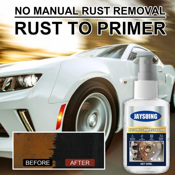 60ML Anti-rust Lubricant Rust Cleaner Spray Derusting Spray Car Maintenance Household Cleaning Tools Anti-rust Lubricant Car accessories