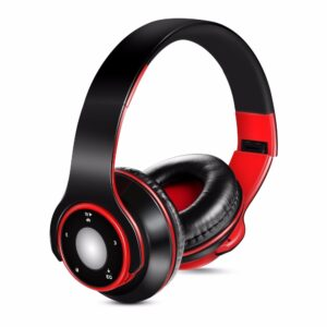AYVVPII Best earphones Wireless Stereo Bluetooth Headphones Built-in Mic Soft Earmuffs Sports Headset BASS for ios and Android Bluetooth headphones