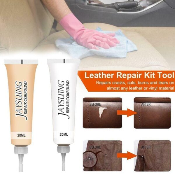 Advanced Leather Repair Gel Car Seat Home Leather Complementary Color Repair Paste 20ml Car accessories