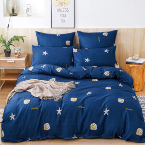 Alanna X series 06 Printed Solid bedding sets Home Bedding Set 4-7pcs High Quality Lovely Pattern with Star tree flower Bedrooms