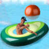 Avocado Inflatable Floating Raft Water Game Swim Ring Inflat Float Pool Inflatable Toy Adult Party inflat Raft Pool Toy Kid Swimming