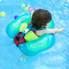 Baby Swimming Pool Toy Circle Inflatable Ring Infant Armpit Floating Kids Bathing Double Raft Safety Ring Children Wheel Toy Swimming