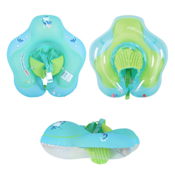 Baby Swimming Ring Inflatable Infant Floating Kids Float Swim Pool Accessories Circle Bath Inflatable Ring Toy For Dropship Toy Swimming