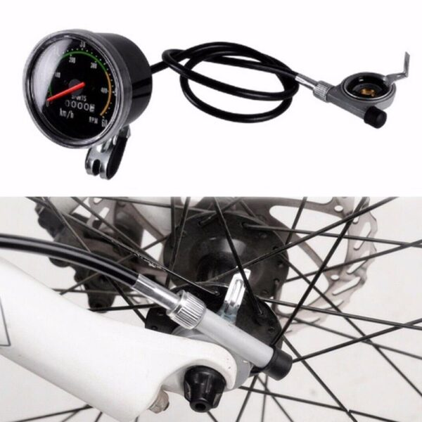 Bicycle Computer Mechanical Classic Retro Cycling Odometer Stopwatch Wired Speedometer Bike Accessory for 26/27.5/28/29inch bike Car accessories