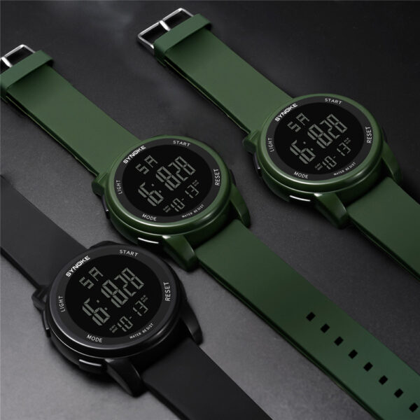 Brand Led Digital Mens Military Watch Men Sports Watches Swim Climbing Fashion Outdoor Casual Men Wristwatches Movement Watch Fashion Life & Accessories Iwatch & Accessories