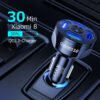 Car Charger USB Quick Charge QC 3.0 Ports Car Cigarette Lighter Adapter for Huawei iPhone Samsung Xiaomi QC Car Phone Charging Car accessories